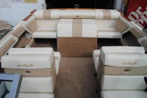 Sea Ray Upholstery (we offer in house embroidery free of charge with any complete)