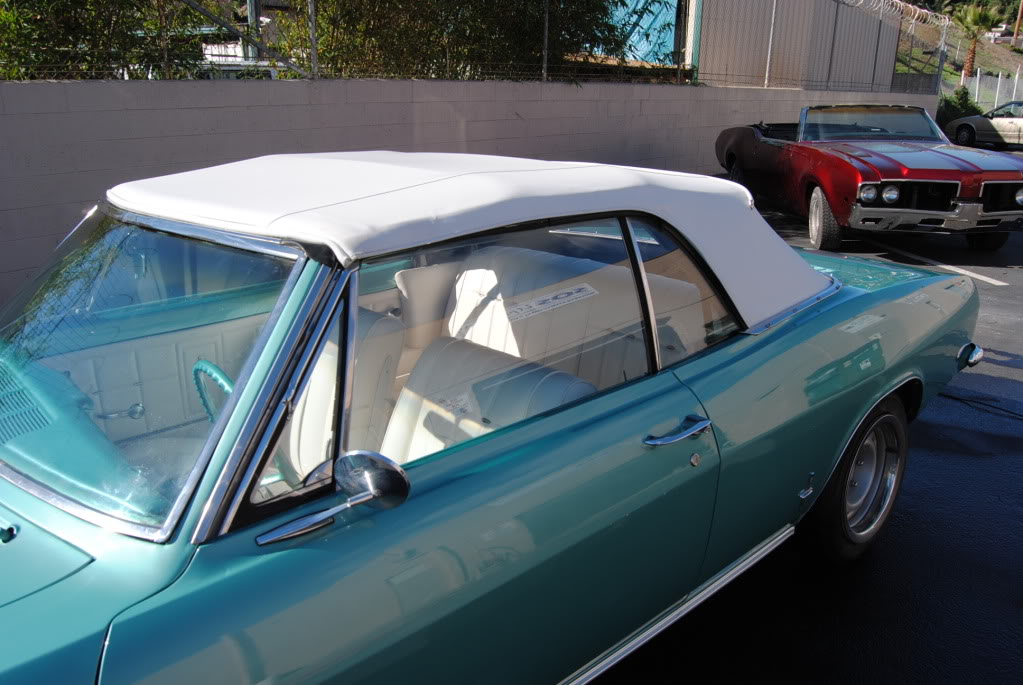 Chevy Corvair We Installed A Top On And Did Complete Interior