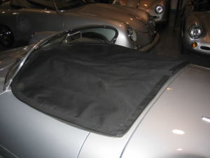 Porsche 356 replica with Tonneau cover we made custom fit.